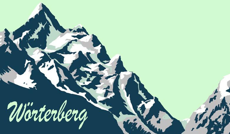 Wörterberg 701 m.ü.M.